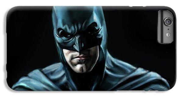 Ben Affleck iPhone 6s Plus Case - Batman Justice League by Vinny John Usuriello