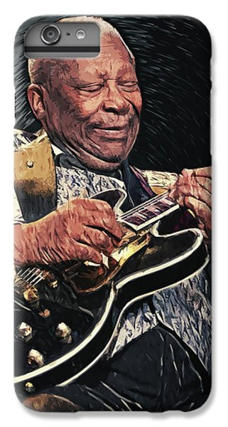 U2 iPhone 6s Plus Case - Bb King by Taylan Apukovska
