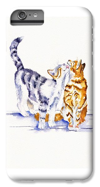 Cat iPhone 6s Plus Case - Be Cherished by Debra Hall