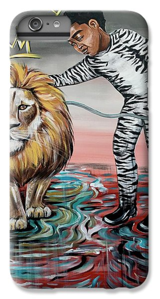 iPhone 6s Plus Case - Be Courageous My Son by Artist RiA