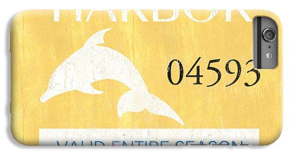 Dolphin iPhone 6s Plus Case - Beach Badge Stone Harbor by Debbie DeWitt