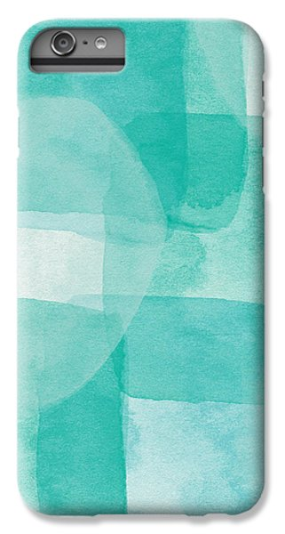 Beach iPhone 6s Plus Case - Beach Glass- Abstract Art By Linda Woods by Linda Woods