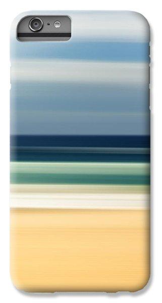 Beach iPhone 6s Plus Case - Beach Pastels by Az Jackson
