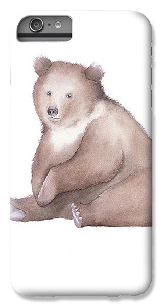 Bear Watercolor IPhone 6s Plus Case