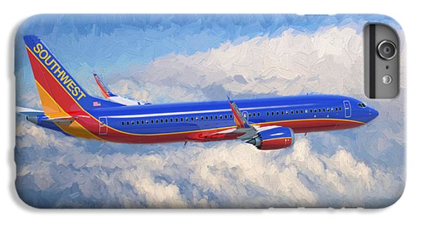 Airplane iPhone 6s Plus Case - Beauty In Flight by Garland Johnson