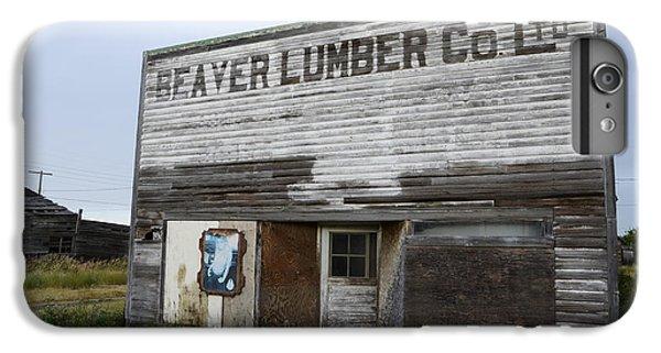 Beaver Lumber Company Ltd Robsart IPhone 6s Plus Case by Bob Christopher