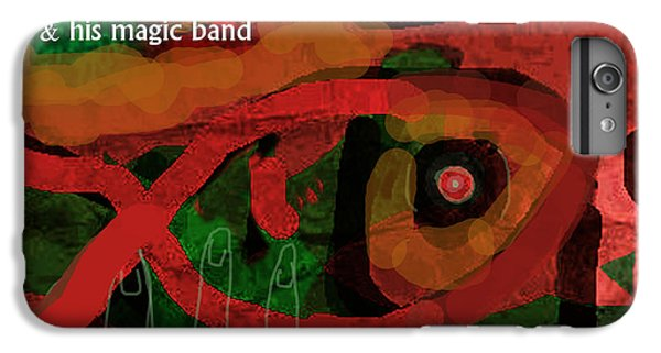 Def Leppard iPhone 6s Plus Case - Beefheart Album Cover by Enki Art