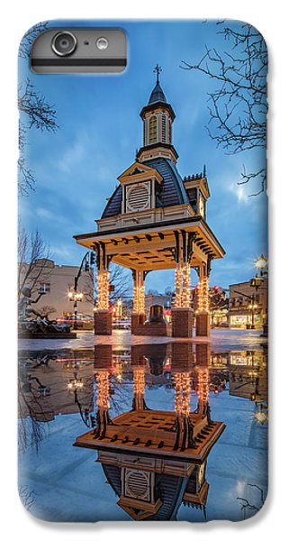 Bell Tower  In Beaver  IPhone 6s Plus Case by Emmanuel Panagiotakis