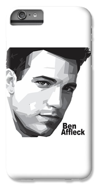 Ben Affleck Portrait Art IPhone 6s Plus Case by Madiaz Roby