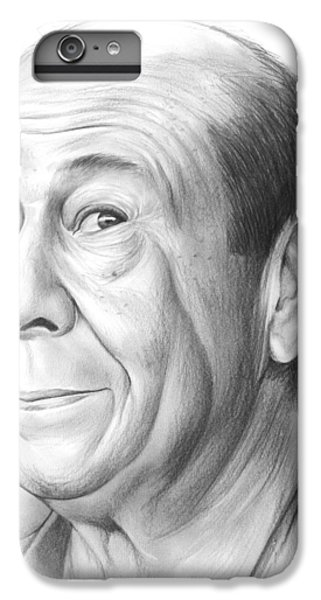 Wizard iPhone 6s Plus Case - Bert Lahr by Greg Joens