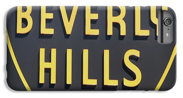 Beverly Hills iPhone 6s Plus Case - Beverly Hills Sign by Mindy Sommers