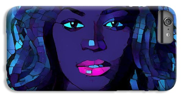 Beyonce Graphic Abstract IPhone 6s Plus Case by Dan Sproul