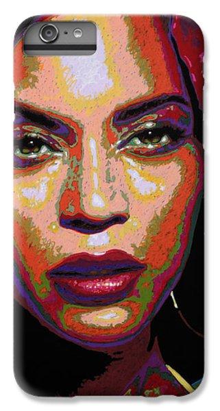 Beyonce IPhone 6s Plus Case by Maria Arango