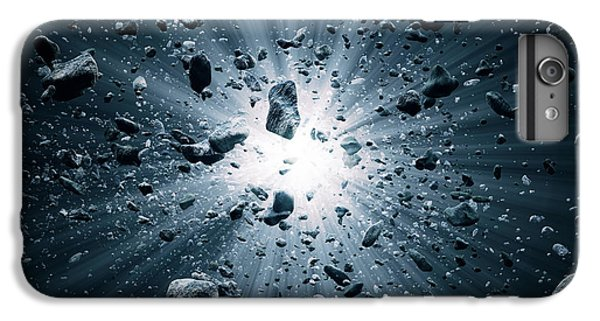 Explosion iPhone 6s Plus Case - Big Bang Explosion In Space by Johan Swanepoel