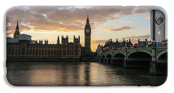 Big Ben London Sunset IPhone 6s Plus Case by Mike Reid