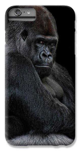Gorilla iPhone 6s Plus Case - Big Silverback by Joachim G Pinkawa