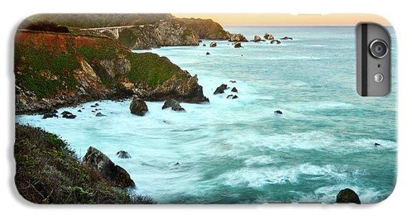 Ocean iPhone 6s Plus Case - Big Sur Sunrise by Jamie Pham