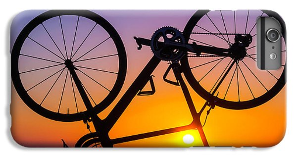 Bicycle iPhone 6s Plus Case - Bike On Seawall by Garry Gay