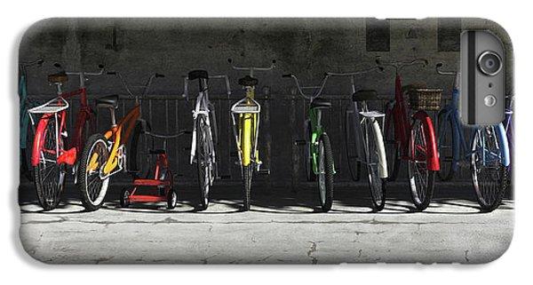 Bike Rack IPhone 6s Plus Case by Cynthia Decker