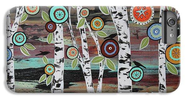 Blackbird iPhone 6s Plus Case - Birch Woods by Karla Gerard