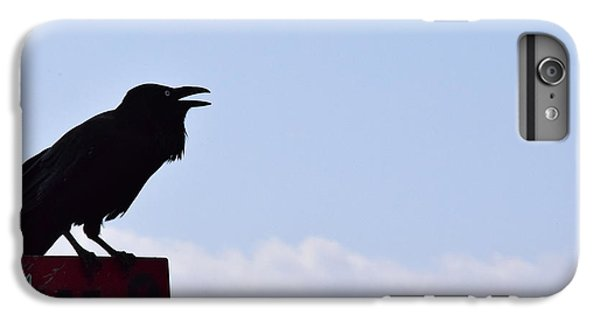 Crow Profile IPhone 6s Plus Case by Sandy Taylor