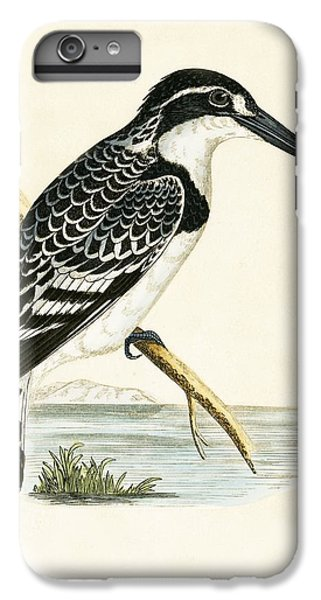 Black And White Kingfisher IPhone 6s Plus Case