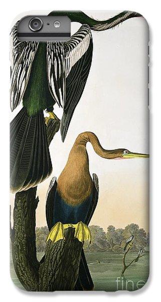 Anhinga iPhone 6s Plus Case - Black Billed Darter by John James Audubon
