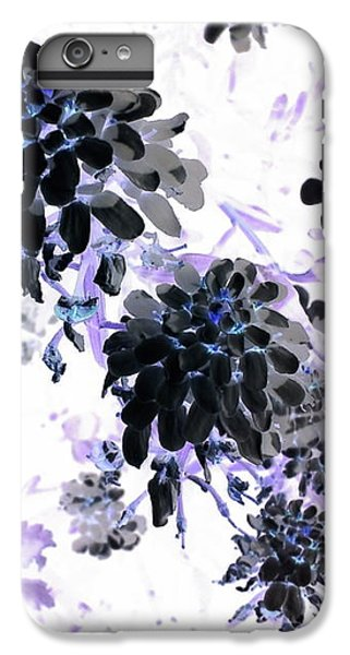 iPhone 6s Plus Case - Black Blooms I by Orphelia Aristal