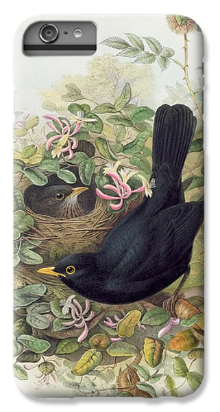 Blackbird,  IPhone 6s Plus Case by John Gould