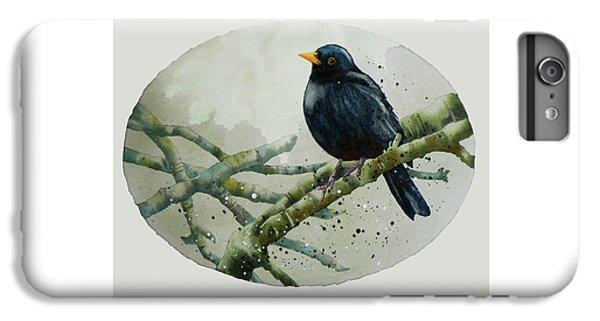 Blackbird Painting IPhone 6s Plus Case