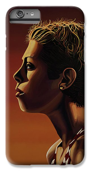 Blanka Vlasic Painting IPhone 6s Plus Case by Paul Meijering