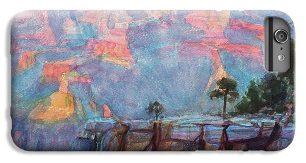 Grand Canyon iPhone 6s Plus Case - Blue Depths by Steve Henderson