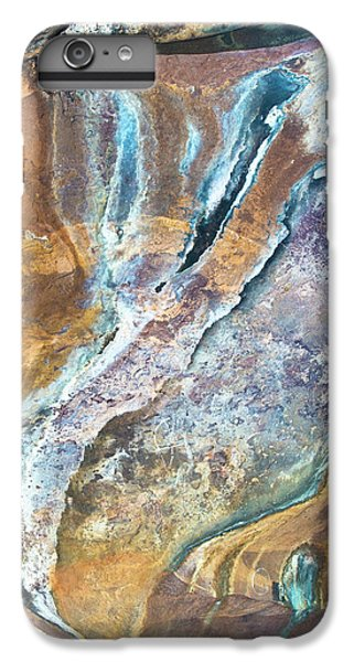 IPhone 6s Plus Case featuring the photograph Blue Fantasy, Bhimbetka, 2016 by Hitendra SINKAR