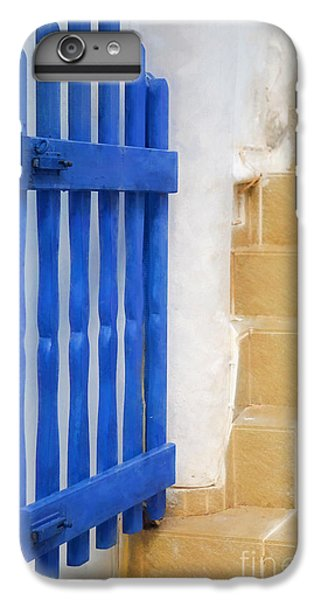 Greece iPhone 6s Plus Case - Blue Gate by HD Connelly