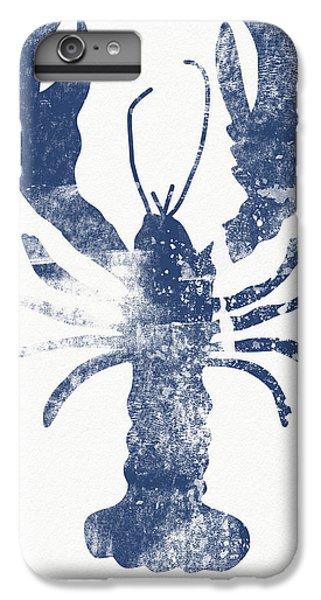 Beach iPhone 6s Plus Case - Blue Lobster- Art By Linda Woods by Linda Woods