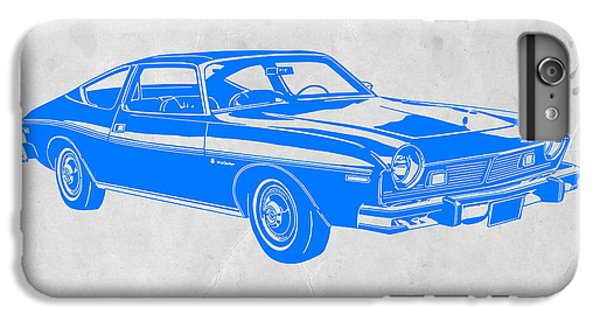 Beetle iPhone 6s Plus Case - Blue Muscle Car by Naxart Studio