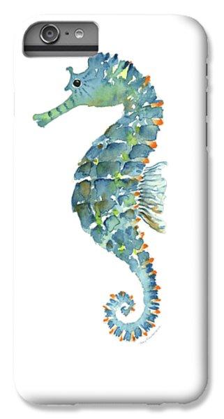Blue Seahorse IPhone 6s Plus Case