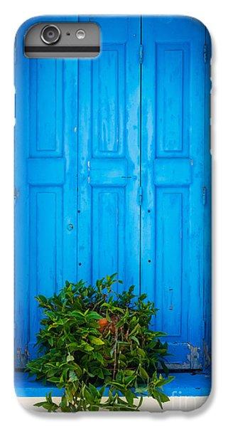 Greece iPhone 6s Plus Case - Blue Window by Inge Johnsson