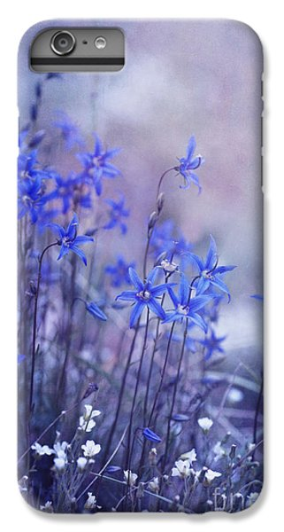 White iPhone 6s Plus Case - Bluebell Heaven by Priska Wettstein