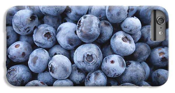 Blueberry iPhone 6s Plus Case - Blueberries by Happy Home Artistry