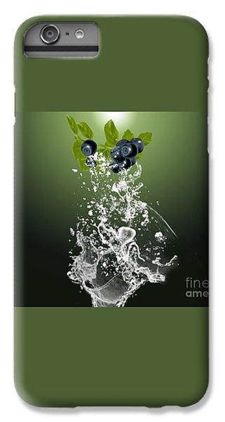 Blueberry Splash IPhone 6s Plus Case by Marvin Blaine