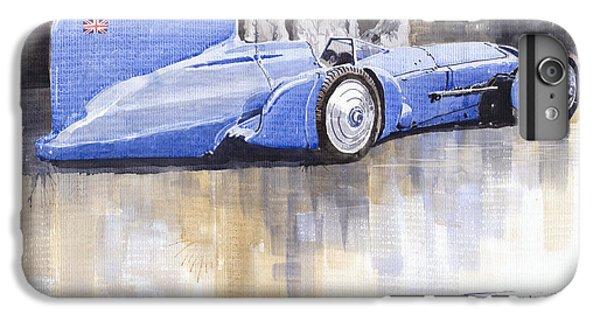 Bluebird iPhone 6s Plus Case - Bluebird World Land Speed Record Car 1931 by Yuriy Shevchuk