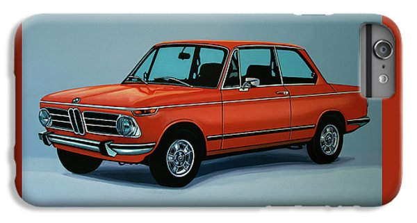 Bmw 2002 1968 Painting IPhone 6s Plus Case by Paul Meijering