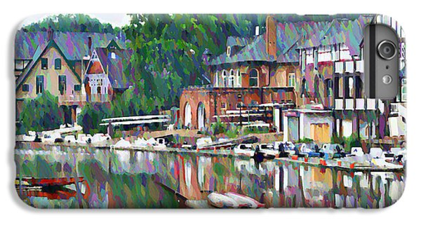 Boathouse Row In Philadelphia IPhone 6s Plus Case by Bill Cannon