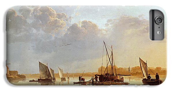 Boat iPhone 6s Plus Case - Boats On A River by Aelbert Cuyp
