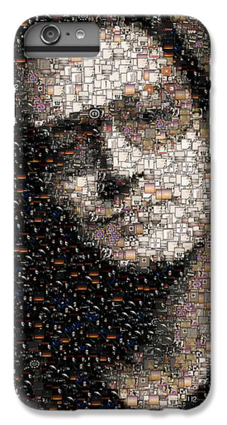U2 iPhone 6s Plus Case - Bono U2 Albums Mosaic by Paul Van Scott