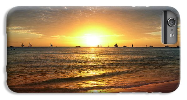 Venice Beach iPhone 6s Plus Case - boracay,Philippians 4 by Mark Ashkenazi