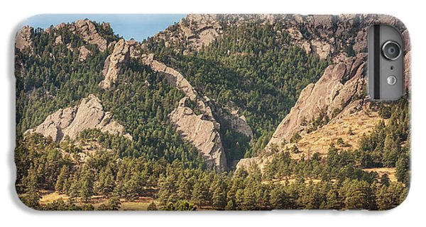 IPhone 6s Plus Case featuring the photograph Boulder Colorado Rocky Mountain Foothills by James BO Insogna