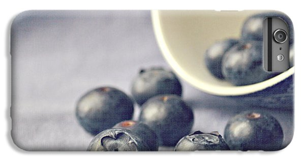 Blueberry iPhone 6s Plus Case - Bowl Of Blueberries by Lyn Randle