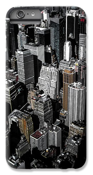 Times Square iPhone 6s Plus Case - Boxes Of Manhattan by Nicklas Gustafsson